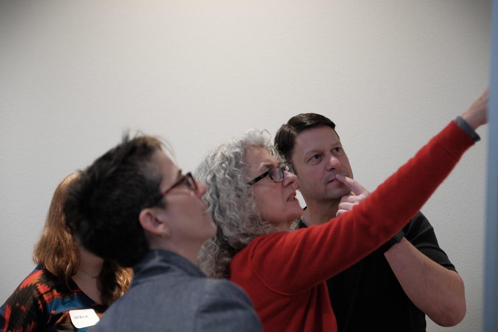 Photograph of PrD Workshop participants